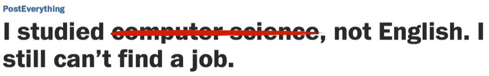 Washington Post, Take Down This Article!